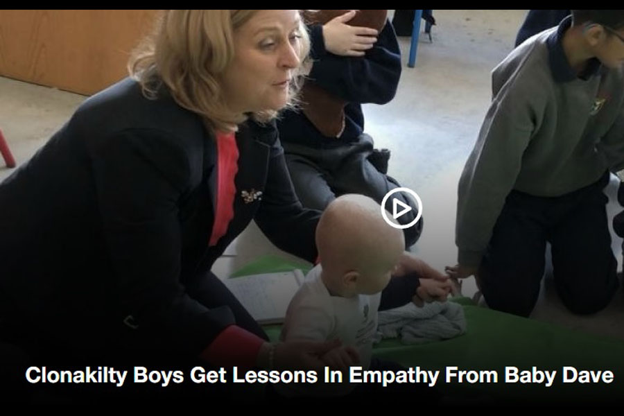 Clonakilty Boys Get Lessons In Empathy From Baby Dave