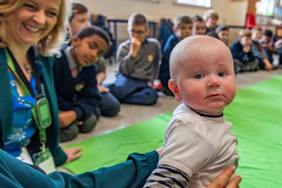 How baby Dave teaches empathy in Cork primary school