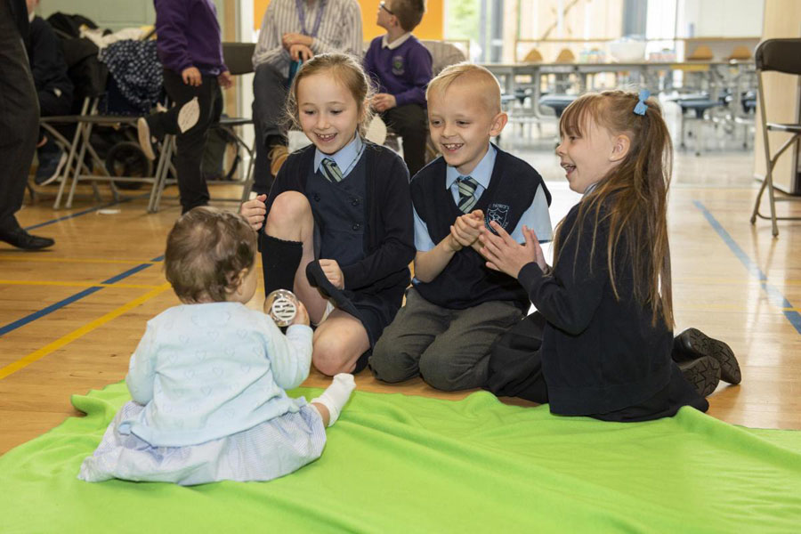 It's child's play for tiny teachers as project success is hailed