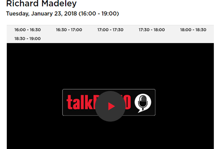 talkRADIO listen again Interview with Roots of Empathy